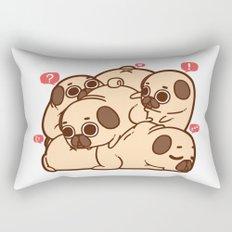 Puglie Grumblie Rectangular Pillow