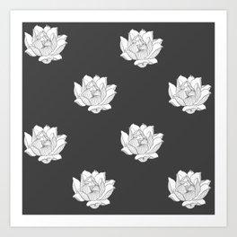 Dance of the Lotus VI Art Print