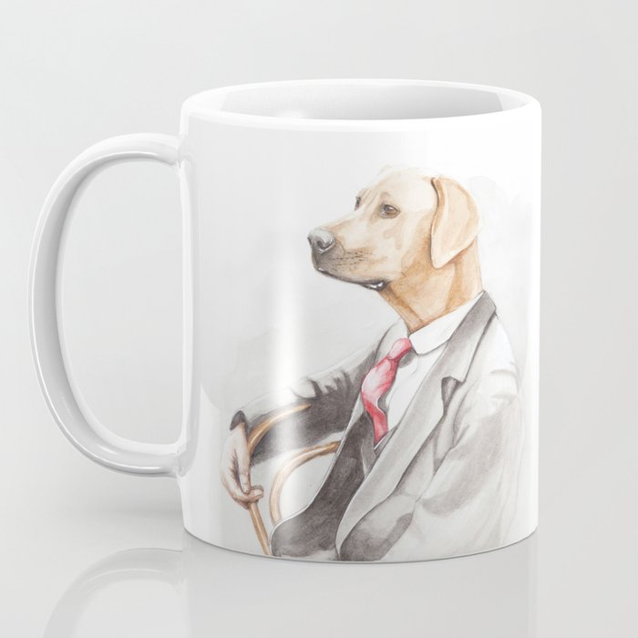 Dog Eat Dog World - Ridgeback Suit Coffee Mug