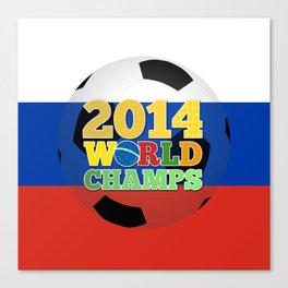 2014 World Champs Ball - Russia Canvas Print