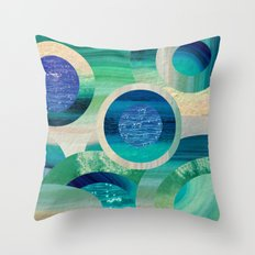 SEA-NCHRONICITY 2 Throw Pillow