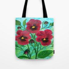 Wild pansies  Tote Bag