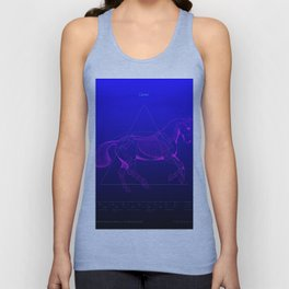 Da Vinci Horse Revealed Unisex Tank Top