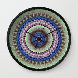 Girly Mandala Wall Clock