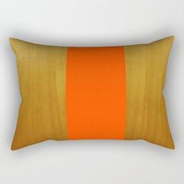 Stripe and Wood Rectangular Pillow