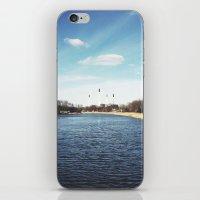 denmark iPhone & iPod Skins featuring Copenhagen, Denmark by Ubersuper (Stefan Sicher)