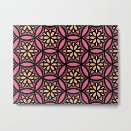 Coral Floral II Metal Print