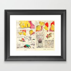 bartkira 2 Framed Art Print
