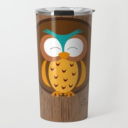 Owl - Good night Travel Mug