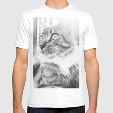 Chi White Mens Fitted Tee MEDIUM
