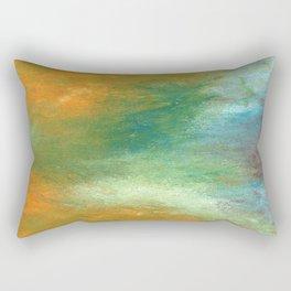 Land Meets Water Rectangular Pillow