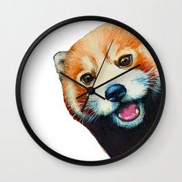Panda Selfie Wall Clock