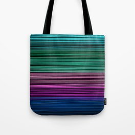 Rainbow thread , abstract pattern 1 Tote Bag