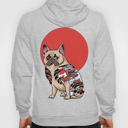 French Bulldog Yakuza Hoody