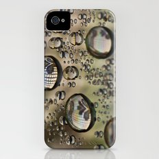 Drops Of Gold Slim Case iPhone (4, 4s)