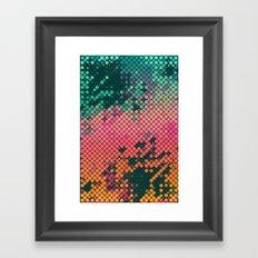 scryyn dryp Framed Art Print