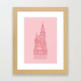 Copenhagen (Cities series) Framed Art Print