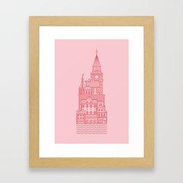 Copenhagen (Cities series) Framed Art Print