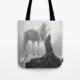 Our Hearts In the Moonlight  Tote Bag