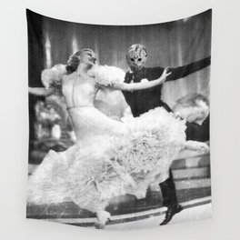 Jason Vorhees as Fred Astaire Wall Tapestry