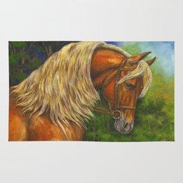 Sorrel Horse with Light Mane Rug