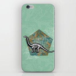 Brachiosaurus Fossil iPhone Skin