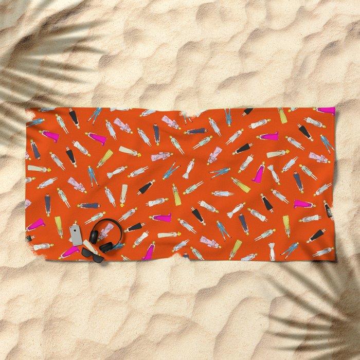 Floating Marilyn Beach Towel