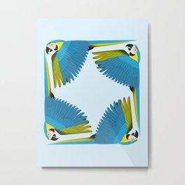 Parrots - Macaw Metal Print