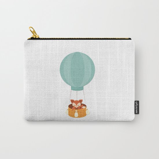 Flying fox- Animal Watercolor Illustration Carry-All Pouch