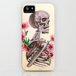 Ghastly Enigma iPhone Case
