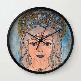 Keeper of the night sky Wall Clock