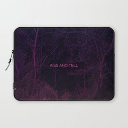 Kiss and Tell Laptop Sleeve