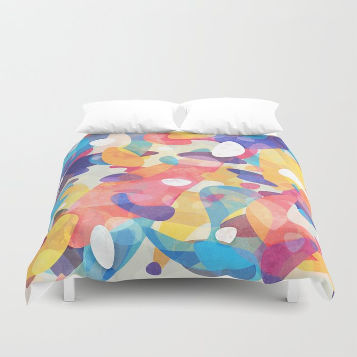 Chaotic Construction Duvet Cover