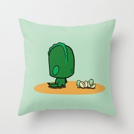 dino times Throw Pillow
