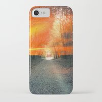 oakland iPhone & iPod Cases featuring Oakland Hills by manfreckles