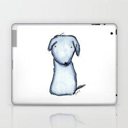 Puppy Blue Laptop & iPad Skin
