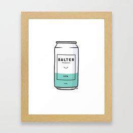 Balter Beer Can Framed Art Print