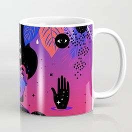 Noche Tropical  de Frida Coffee Mug