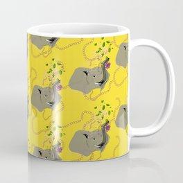 Mini Elli in yellow Coffee Mug