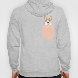 Shelby - Welsh Corgi gifts with corgi illustration for dog people and corgi owner gifts dog gifts Hoody