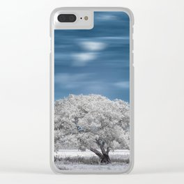 Onte Tree Clear iPhone Case