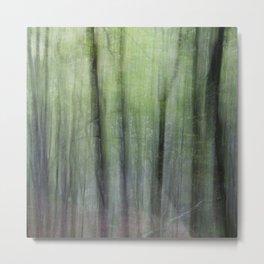 Dizzy forest Metal Print