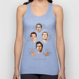 9th 10th 11th and 12th Doctor Unisex Tank Top
