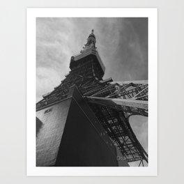 Architecture in Tokyo Art Print