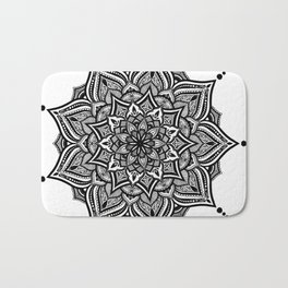 mandala love Bath Mat