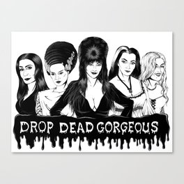 Ladies of Fright Canvas Print