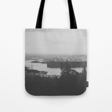 vancouver from cypress mountain. Tote Bag