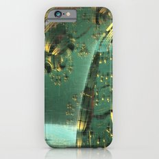 Cannon Battery (Crosshatch Explosion) Slim Case iPhone 6s