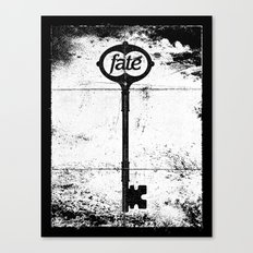 Fate Canvas Print