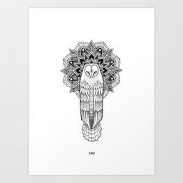 Minute Art Print
